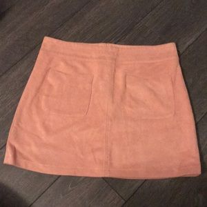 Pink Kendall and Kylie skirt